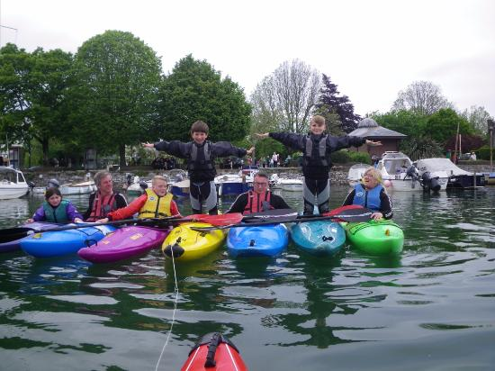 DYC Canoe Section