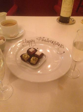 Shanahan's on The Green: Petite Fours