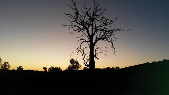 Alicedale, Afrika Selatan: Sunset