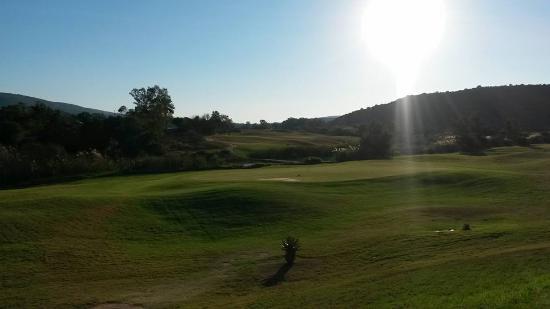 Alicedale, Afrika Selatan: Golf course Hole 8