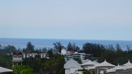 Pacific Club Resort: view from studio suite on 4th floor