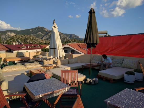 Caretta Caretta Hotel: Dachterrasse