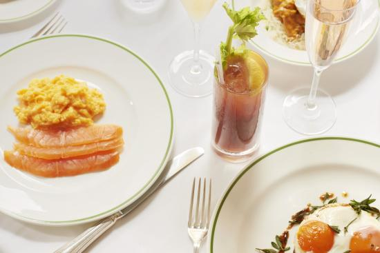 HIX Mayfair : Brunch Smoked Salmon