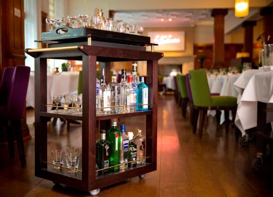 HIX Mayfair : Martini Trolley