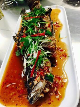 Edge Hill, Australia: Samgasat Thai cuisine by Tommy's ribs