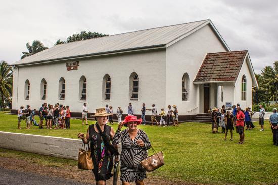 Cook Island Christian Church (CICC): Church exterior