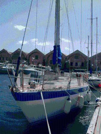 Sailing boat Panefi