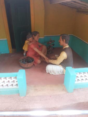 Loutolim, Indien: traditional household