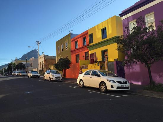 Rouge on Rose: The colourful Bo Kaap neighbourhood.