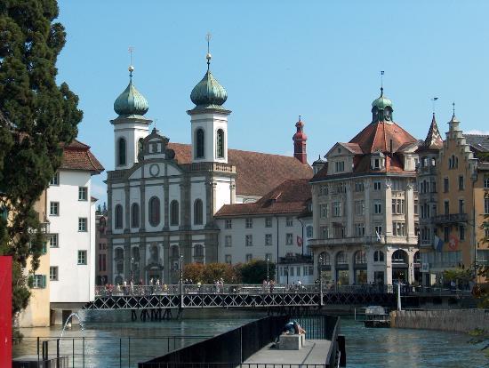 Old Town Lucerne: Jesuitenkirche Luzern