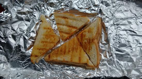 "Ufford, UK: £4.69 ""worth"" of toastie."