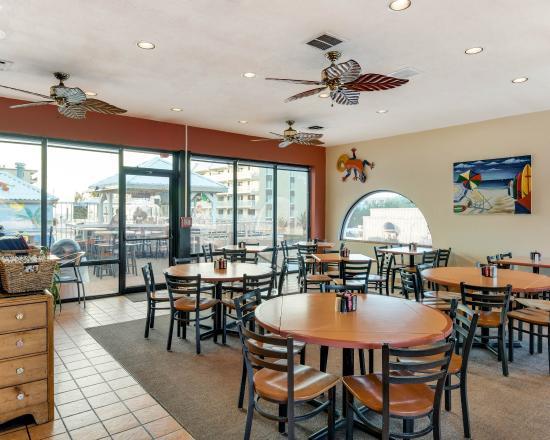 Econolodge Oceanblock: Hotel restaurant