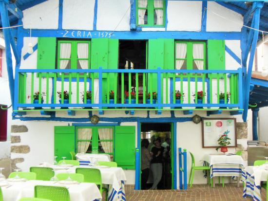 Zeria: la façade du restaurant