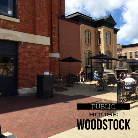 Public House of Woodstock: Patio - Alfresco Dining