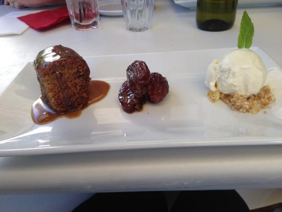 Brookwood Cafe : Sticky Date pudding