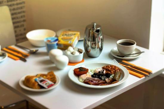 B&B Belgravia: cooked breakfast