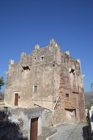 Náxos, Griekenland: Fragopoulos Della Rocca Tower
