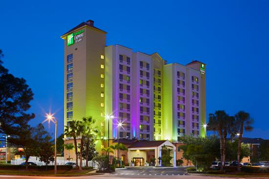 Holiday Inn Express Hotel & Suites Universal Studios Orlando: Welcome to our Universal Orlando Hotel!