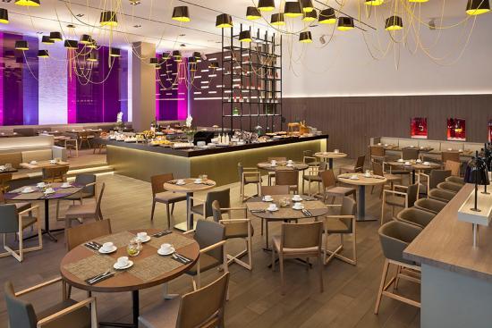 The Level at Melia Barcelona Sky : Breakfast Buffet