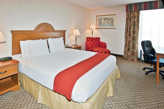 Holiday Inn Express Flint: King Bed Guest Room