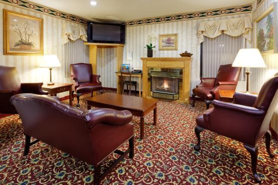 Vernon, CT: Hotel Lobby