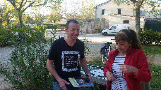 Aubignan, Francia: 20160415_190520_large.jpg