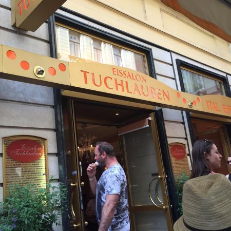 сюда приходят венцы Picture Of Eissalon Tuchlauben Vienna