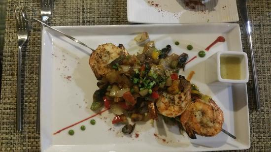 Fire Grill Steak House & Lounge Bar: Juicey Prawns
