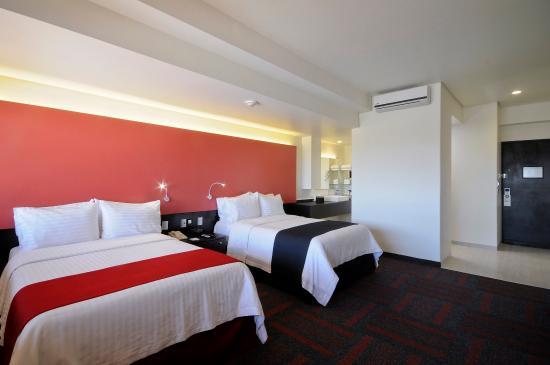 هوليداي إن مكسيكو دالي إيربورت: Two Double Beds Superior Room