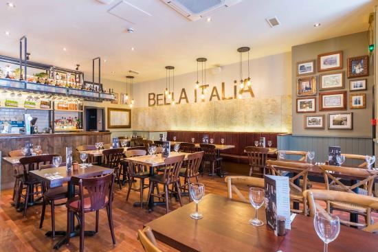 Bella Italia Bristol Baldwin Street