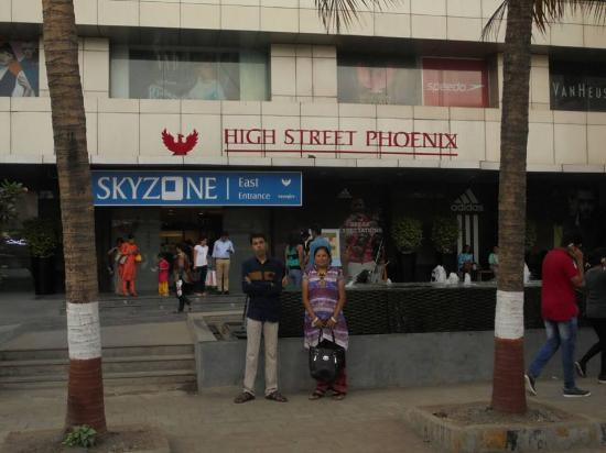 High Street Phoenix: look from the front