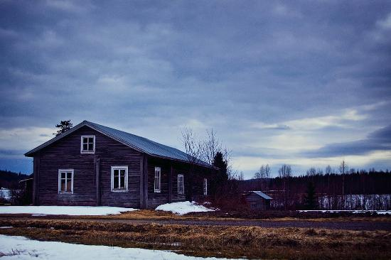 Région du Kainuu, Finlande : Kainuu region with its old homes has an old world attraction.
