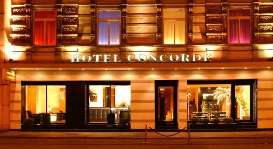 Hotel Concorde : Exterior