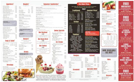 Oakdale, PA: Our Menu 2