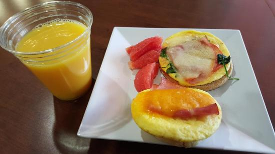 breakfast buffet is excellent picture of hyatt place houston rh tripadvisor com