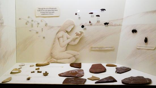 Cherokee, Αϊόβα: The Sanford Museum had many exhibits on the prehistory of our area.