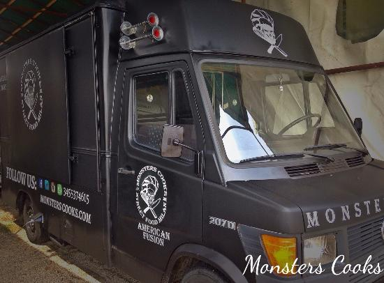 Monsters Cooks Street Food Milan