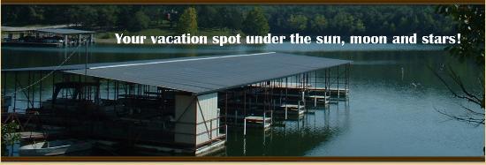 Oak Hill Resort : Boat dock-boat rentals-concrete ramp-full service
