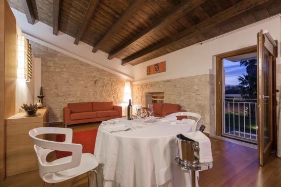 Villa Carlotta Hotel : Cena nella Suite Principe