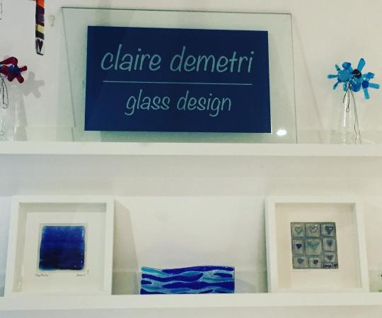 Claire Demetri Glass Design