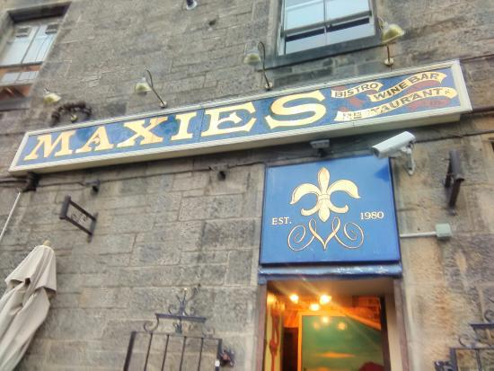 Image result for Maxies Bistro edinburgh