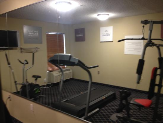Magnuson Hotel Washington: Fitness Center