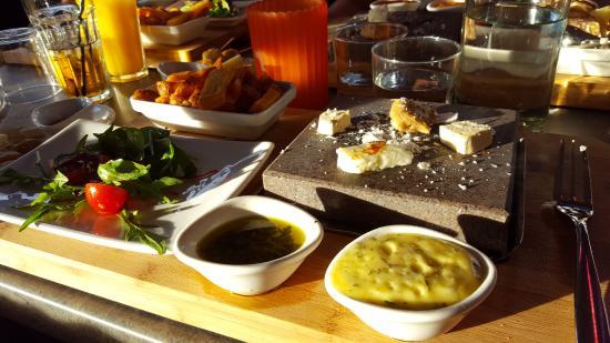Falun, Σουηδία: Vegetariskt på Blackstone
