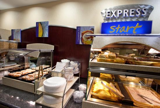 Breakfast Bar at Holiday Inn Express Franklin Ohio