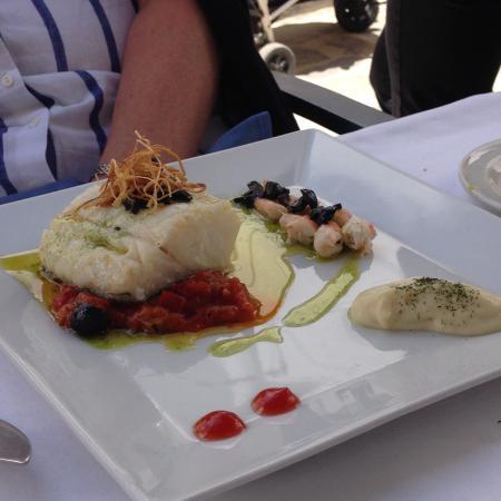 Terral Gaucín: Lunch of cod