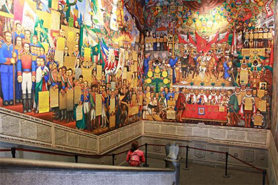 Murals of the Government Palace