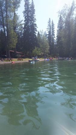 Lake Five Resort: the warm clean lake