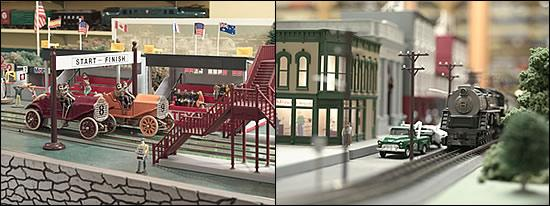 National Toy Train Museum: Two Exhibits