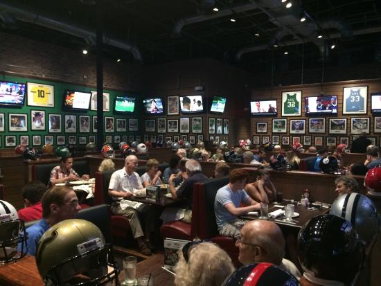 Duffy's Sports Grill: Inside the bar area.