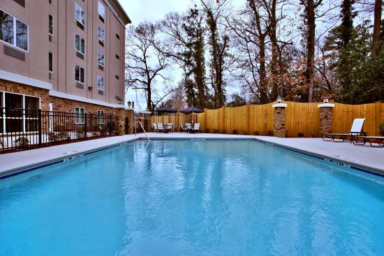 Swimming Pool Holiday Inn Express Amp Suites Columbus Fort
